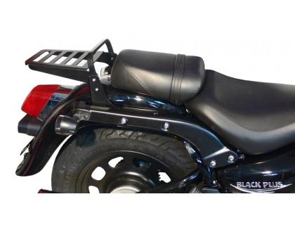 Черный багажник (23 см) для мотоцикла Daelim DAYSTAR Black Plus 125 Fi / Dark Plus 125 Fi / Grey Plus 125 Fi