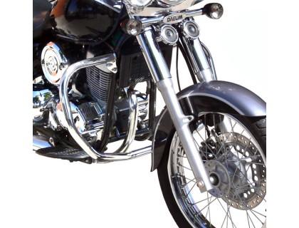 Дуги безопасности SPAAN черные для мотоцикла DAELIM DAYSTAR