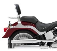 Пассажирская спинка SPAAN с багажником для мотоциклов HARLEY DAVIDSON Fat Boy, Softail Deluxe, Cross Bones, Springer Softail и др.