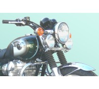 Лайтбар, люстра для мотоцикла (дуга, перекладина) Kawasaki W650, W800