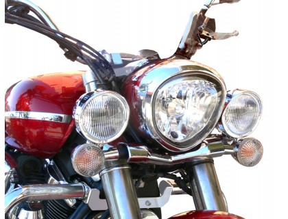 Лайтбар, люстра для мотоцикла (дуга, перекладина) YAMAHA MIDNIGHT 1300 XVSA - V STAR 1300