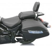 Спинка хромированная на мотоцикл с багажником SUZUKI INTRUDER C1500T, BOULEVARD C90T B.O.S.S.