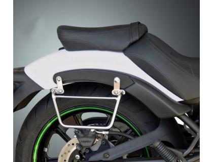 Рамки хромированные для быстросъемных кофров Klick Fix для мотоцикла KAWASAKI VULCAN S 650 без установленной спинки или багажника