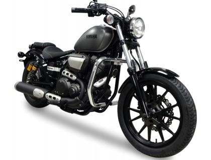 Передние черные дуги для мотоцикла Yamaha BOLT