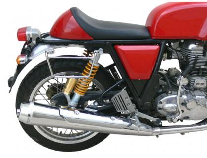 Черные рамки KlickFix для быстросъемных кофров для мотоцикла Royal Enfield Continental GT535