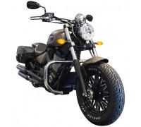 Защитные дуги SPAAN черного цвета для мотоциклов VICTORY Gunner, Kingpin, Vegas, Hammer, Jackpot, Judge (арт. 1186Ne)