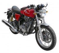 Черные защитные дуги для мотоцикла Royal Enfield Continental GT535