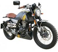 Хромированные дуги безопасности для мотоцикла Mondial HPS 125.