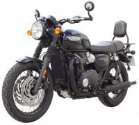 Защитные дуги SPAAN черного цвета для мотоцикла Triumph T120 / T120black (2016-…)