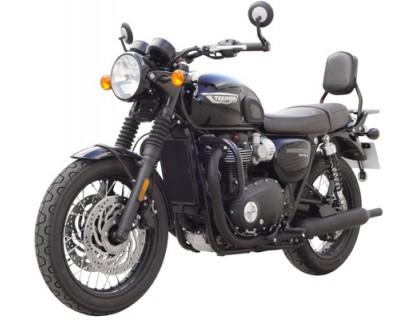 Черные дуги SPAAN для мотоцикла Triumph T120, T120black