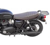 Багажник SPAAN черного цвета для мотоцикла Triumph T120 / T120black (2016-…)