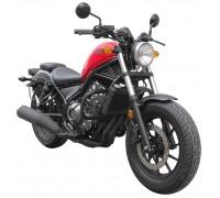 Черные защитные дуги для мотоцикла HONDA Rebel 500 / CMX 500 C REBEL
