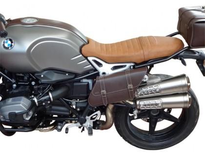 Правый кофр для мотоцикла BMW R NineT, черный