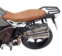 Черный багажник для мотоцикла  BMW R NineT