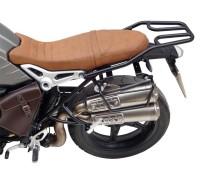 Черный багажник для мотоцикла  BMW R Nine T