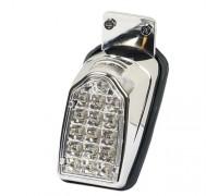 Задний светодиодный хромированный фонарь для мотоцикла