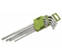 "Набор ключей TORX 9 шт (Т10,Т15,Т20,Т25,Т27,Т30,Т40,Т45,Т50) ""ДТ"""