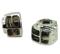 Декоративный корпус переключателей на руле мотоцикла Harley Davidson Sportster, Dyna, Softail, V-Rod