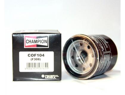 Фильтр масляный CHAMPION COF104 (COF851-F308)