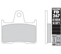 Колодки тормозные для мотоцикла HONDA SHADOW VT 750 C2 ABS (c 2010)