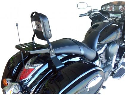 Черная спинка для мотоцикла KAWASAKI VULCAN VN 1700 VOYAGER CUSTOM / VAQUERO
