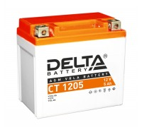 Аккумулятор Delta CT 1205, 12В, 5Ач