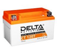 Аккумулятор Delta CT 1207, 12В, 7Ач