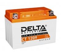 Аккумулятор Delta CT 1209, 12В, 9Ач