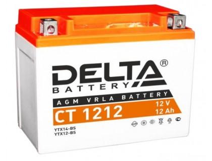 Аккумулятор Delta CT 1212, 12В, 12Ач