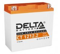 Аккумулятор Delta CT 1212.2, 12В, 12Ач