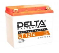 Аккумулятор Delta CT 1214, 12В, 14Ач