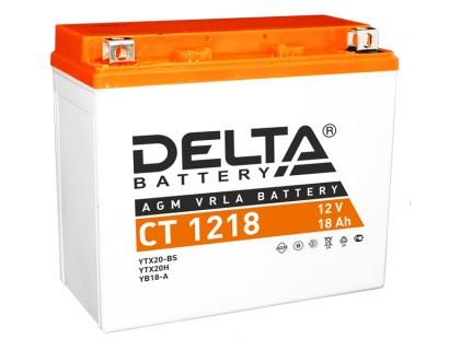 Аккумулятор Delta CT 1218, 12В, 18Ач