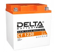 Аккумулятор Delta CT 1230, 12В, 30Ач