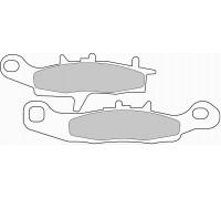 Комплект тормозных колодок FERODO FDB2080SG
