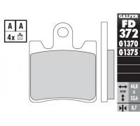 Колодки тормозные для мотоцикла TRIUMPH TROPHY 1200 (c 2013), YAMAHA FJR 1300 ABS (c 2006), XVS 1900 MIDNIGHT STAR (c 2006)