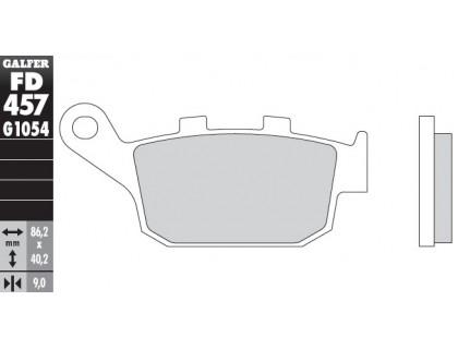 Колодки тормозные для мотоцикла HONDA CBR/NC/INTEGRA, KAWASAKI VERSYS/Z, SUZUKI GW/SFV