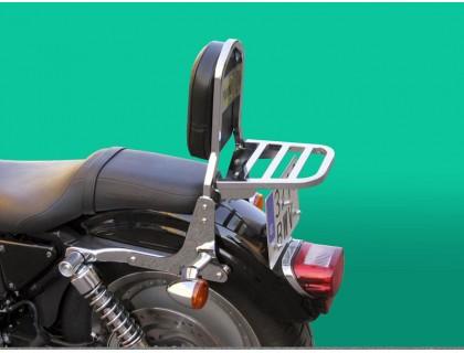 Пассажирская спинка с багажником на мотоцикл HARLEY DAVIDSON SPORTSTER XL/XLM/XLN