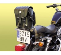 Кофр планшет задний (кожзам) на спинку мотоцикла