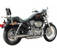 Спинка SPAAN с багажником на мотоцикл HARLEY DAVIDSON SPORTSTER XL/XLM/XLN