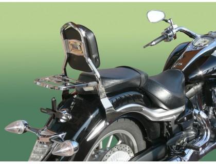 Пассажирская спинка SPAAN на мотоцикл YAMAHA MIDNIGHT 1900 XVSA - V STAR 1900