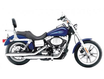 Спинка с багажником на мотоцикл HARLEY DAVIDSON Dyna Glide (2006 - ...)