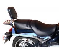 Спинка SPAAN с багажником на мотоцикл SUZUKI INTRUDER M1500, BOULEVARD M90