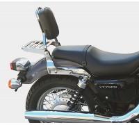 Спинка SPAAN с багажником на мотоцикл HONDA SHADOW VT750 S, VT400 S