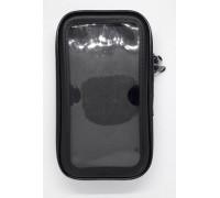 Влагонепроницаемый чехол для телефона с диагональю 4''-4.8'' (13,8 x 7 см) на руль мотоцикла