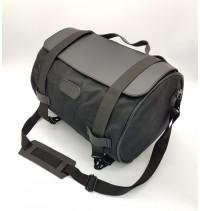 Текстильный задний кофр-сумка для мотоцикла SPAAN 40x28 см (длина х диаметр), черный,