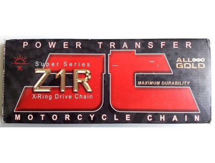 Цепь JT приводная для мотоцикла 530Z1R118RL GOLD&GOLD