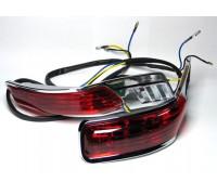 Красные фонари для пластиковых кофров RS